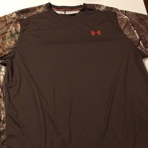 Under Armour Realtree Brown Loose Fit Tee L